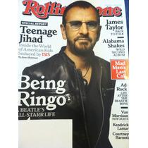 Ringo Ex Beatle Revista Rolling Stone