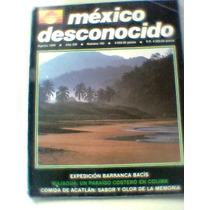 Revistas Mexico Desconocido, Numero 162 Barranca Bacis