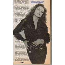 Maria Sorte Reportaje En Tele-guia # 2094