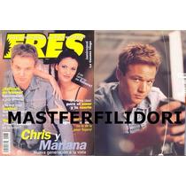 Chris Duran & Mariana Seoane Revista Eres 1999 Thalia