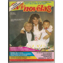 Revista Tvynovelas Verónica Castro Erika Buenfil 1982