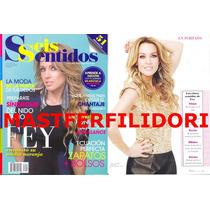 Fey Revista Seis Sentidos De Noviembre 2012 Thalia