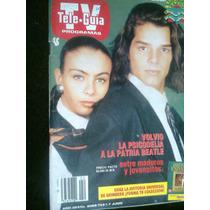 Ricky Martin Y Antigua Revista Teleguia Maa