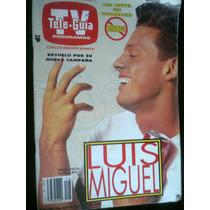 Tele Guia Tv Luis Miguel Antigua Revista Num2019 Vv4