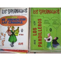 Los Supermachos Lote 40 Revistas