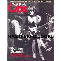 Mick Jagger Rolling Stones Revista Tele Paris Junio 2010