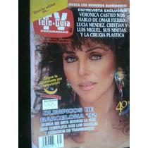Veronica Castro Teleguia Antigua Revista Vv4