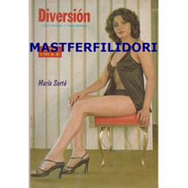 Maria Sorte Revista Diversion De Julio 1977