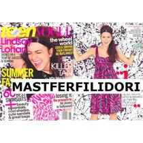 Lindsay Lohan Revista Teen Vogue De Junio/julio 2005 Mmu