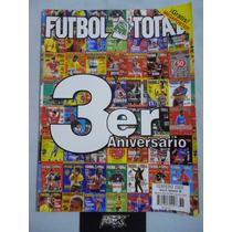 Fútbol Total. Año 4 #36. Febrero 2002. 3er Aniversario
