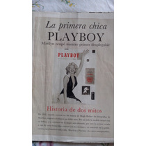 1 Edición Playboys Marilyn Monroue, Revista Playboy