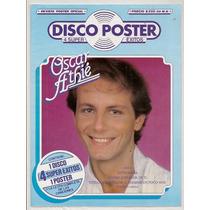 Revista Póster Gigante Y Cromo Oscar Athié De 1983