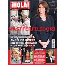 Angelica Rivera En Vaticano Revista Hola Mayo 2014