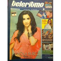 Paola Nuñez Revista Telerimo