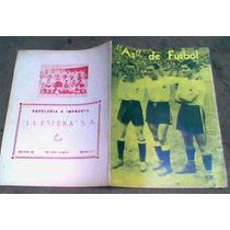 1a.revista De Fut En Mexico As De Futbol 1944