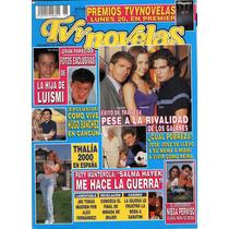 Luis Miguel,michelle Y Thalia En Portada De Tv Y Novelas