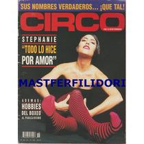 Stephanie Salas Revista Circo De Diciembre 1994