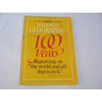 Revista National Geographic 100 Años Ingles Sept. 1988