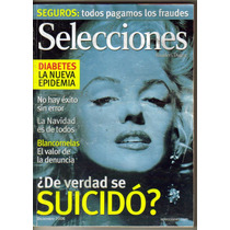 Marilyn Moroe. Reportaje En Revista Selecciones.(2006)$80.00