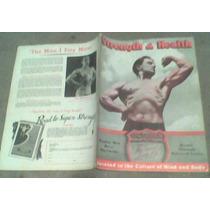 Revistas Fisicoculturismo En Ingles Año 1937