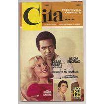 Alicia Encinas Verónica Castro En Fotonovela De 1978
