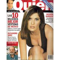 Revista Quien. Portada Con Salma Hayek