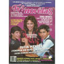 Revista Tv Y Novelas En La Portada Norma Herrera.