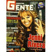 Jenni Rivera Revista Nuestra Gente