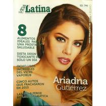 Miss Colombia Ariadna Gutierrez Adele Revista Vida Latina