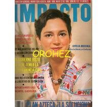 Revista Gigante Impacto Ofelia Medina 1986