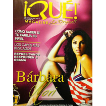 Barbara Mori Revista Que Magazine