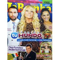 Yuri Rafael Amaya Gaby Espino Danna Paola Revista La Bamba