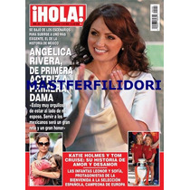 Angelica Rivera Revista Hola De Julio 2012