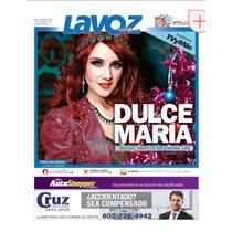 Dulce Maria Periodico La Voz