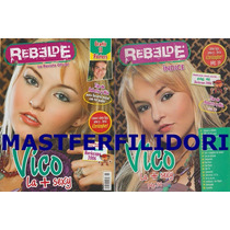 Angelique Boyer Tatu Rbd Revista Oficial Rebelde # 15 2006