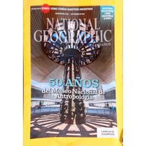 National Geographic. Sep.2014.50 Años Museo De Antropologia