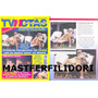 Thalia & Tommy Mottola Revista Tvnotas Abril 1999