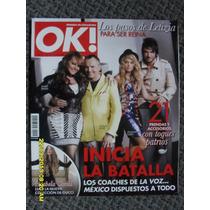 Revista Ok, Jenni Rivera, La Voz Mexico, Beto Cuevas, Bosé