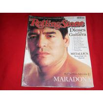 Maradona Revista Rolling Stone Edicion Argentina 1999
