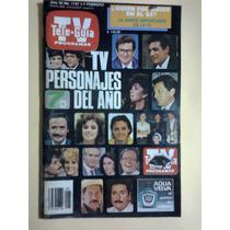 Revista Tv Personajes Del Año 1986