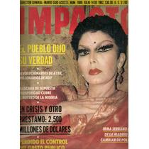 Revista Gigante Impacto Irma Serrano De 1982