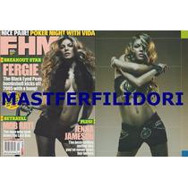 Fergie Black Eyed Peas Emma Bunton Spice Girls Fhm Usa 2005