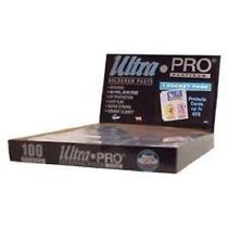100 Micas Ultra Pro Platinum 3 Espacios Para Fotos 4 X6