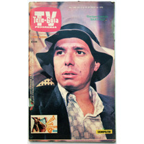 Tele Guia # 1343 Enrique Guzmán Poster Farrah Fawcet 1978