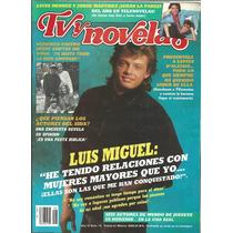 Revista Tv Y Novelas En La Portada Luis Miguel