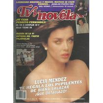 Revista Tv Y Novelas Núm 10 En La Portada Lucía Méndez
