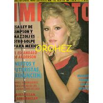 Revista Gigante Impacto Manoella Torres 1984