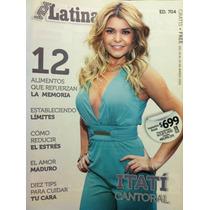 Itati Cantoral Selena Quintanilla Revista Vida Latina