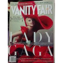 Revista Vanity Fair, En Igles Lady Gaga, En Ingles