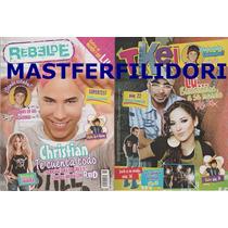 Christian Chavez Paty Cantu Revista Rebelde 2006 Rbd